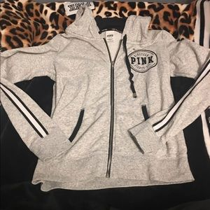 VS PINK LIMITED EDITION ZIP UP Hoodie RARE SZ M